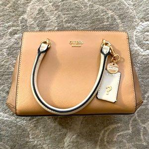 Guess Tan and Cream Mini Handbag